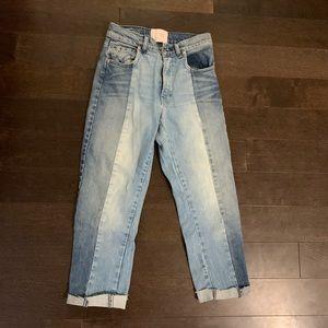 Denim - Dual color jeans